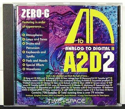 Analog To Digital II AD2D - Zero-G - Samples & Loops