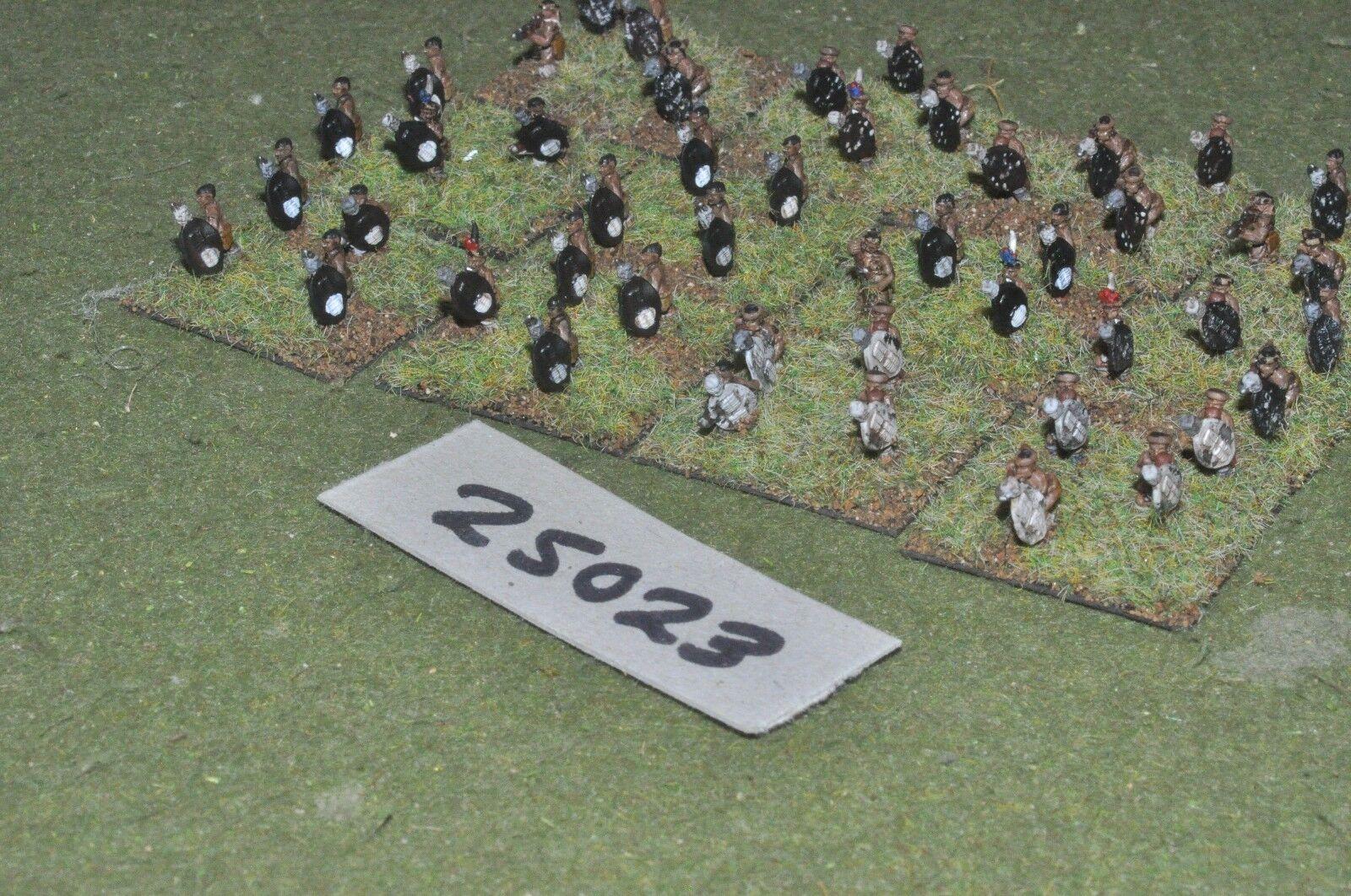 10mm colonial   zulu - warriors 48 figures - inf (25023)