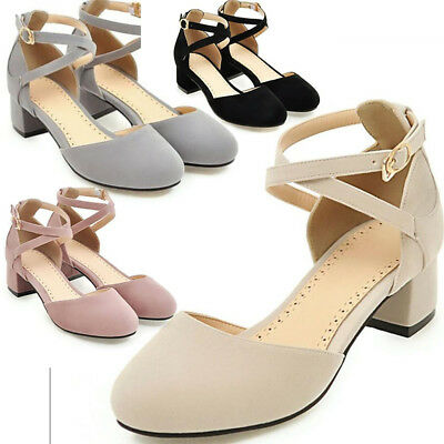 Womens Closed Toe Ankle Strap Sandals