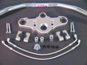 Abm-Superbike-Lenker-Kit-BMW-R-1100-S-R2S-98-00-Chauffe-Poignee-Argent