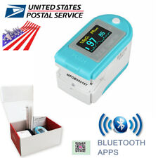Color Oled Pulse Oximeter Finger Spo2 Blood Oxygen Saturation Monitor Bluetooth
