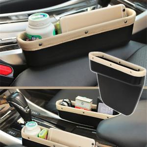 Creamy Auto Seat Slit Pocket Catcher Storage Organizer Catch Box Car Accessories