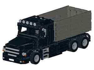 De recette instruction benne torpille camion G autoconstruction pièce unique MOC a lego technic 							 							</span>