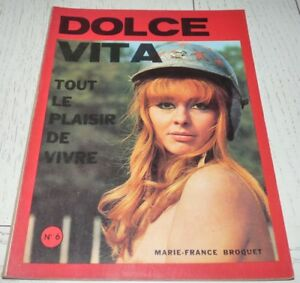 Details About Dolce Vita 6 1968 Charme Erotisme Nu Curiosa Sylva Koscina Brigitte Bardot Lupo