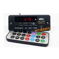 12V MP3/WMA/WAV decoder board Digital LED Audio MP3 player FM radio for car