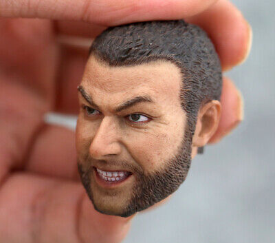 1//6 Scale Wolverine Sabretooth Victor Creed Head Carved Liev Schreiber Head Toy