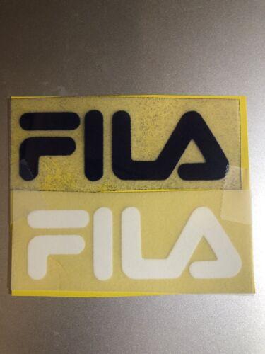West Ham Felt Iron On Fila Logo