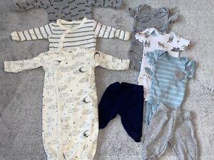 Baby Boy Preemie Clothes Lot Ebay