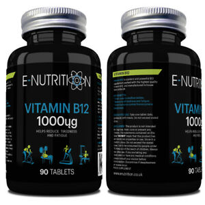 Vitamin-b12-1000mcg-Tabletten-VEGAN-Hochfester-cyonocobalamin-hochwertig