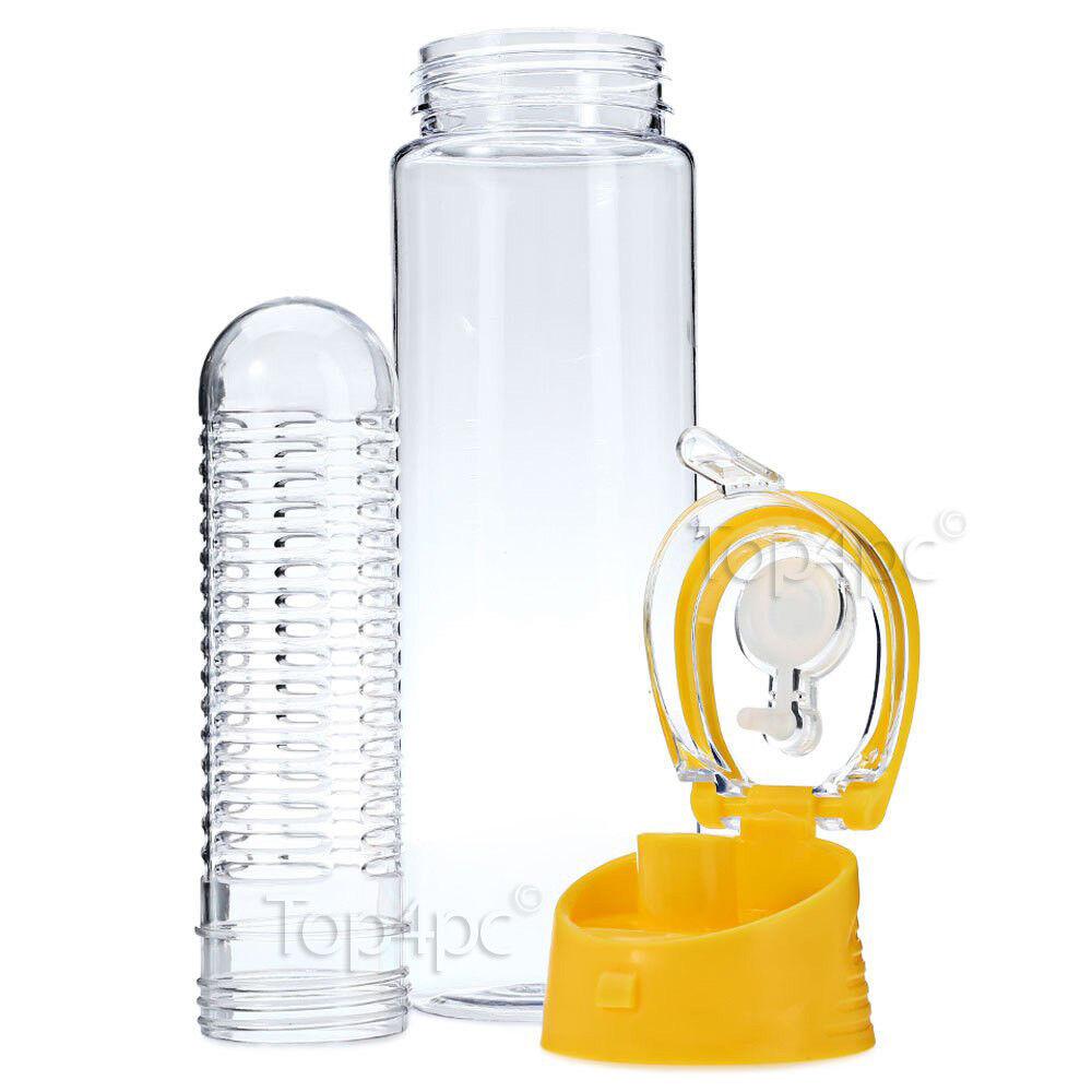 bouteille avec infuseur fruit couvercle anti fuite poign e healthy water detox szyirdbj