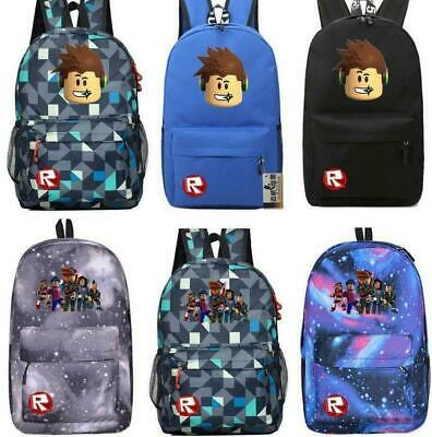 Kids Roblox Backpack Action Figure Toy Kid Birthday Party Gift Student Book Bag Rucksack Boy Girls Travel Notebook Bag Unusual Wedding Favours Wedding Roblox Backpack Kids School Bag Students Boys Bookbag Handbags Travelbag Game Ebay