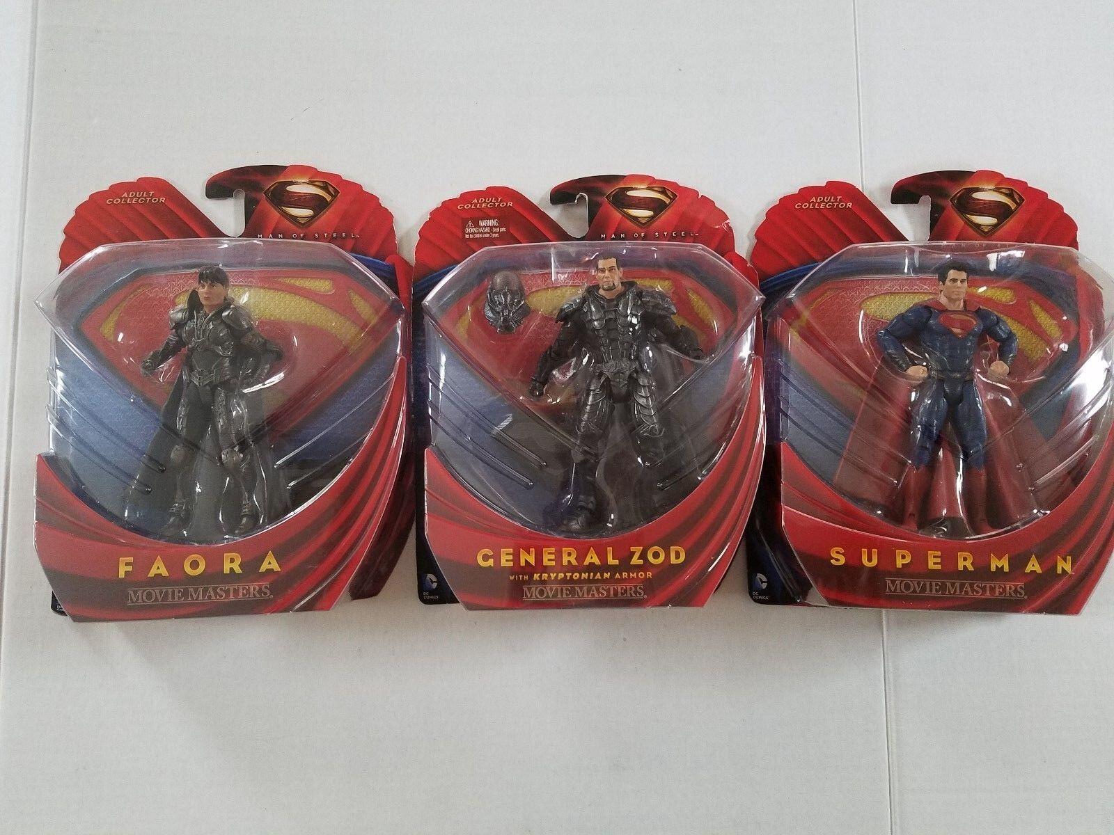 DC Comic Movie Masters Adult Collecters Superman General Zod Flora Flora Flora NIP 501b68