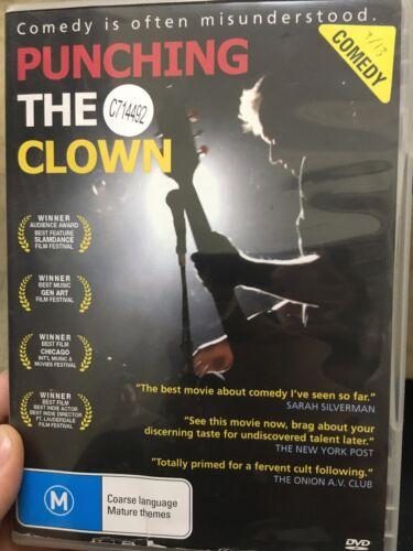1 of 1 - Punching The Clown ex-rental region 4 DVD (2009 comedy movie)