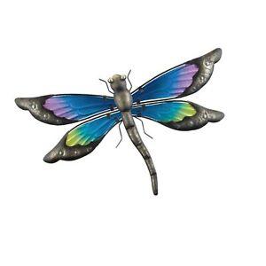 Details About Regal Art Gift 12357 Vintage Dragonfly Decor 15 Wall Décor Multicolor