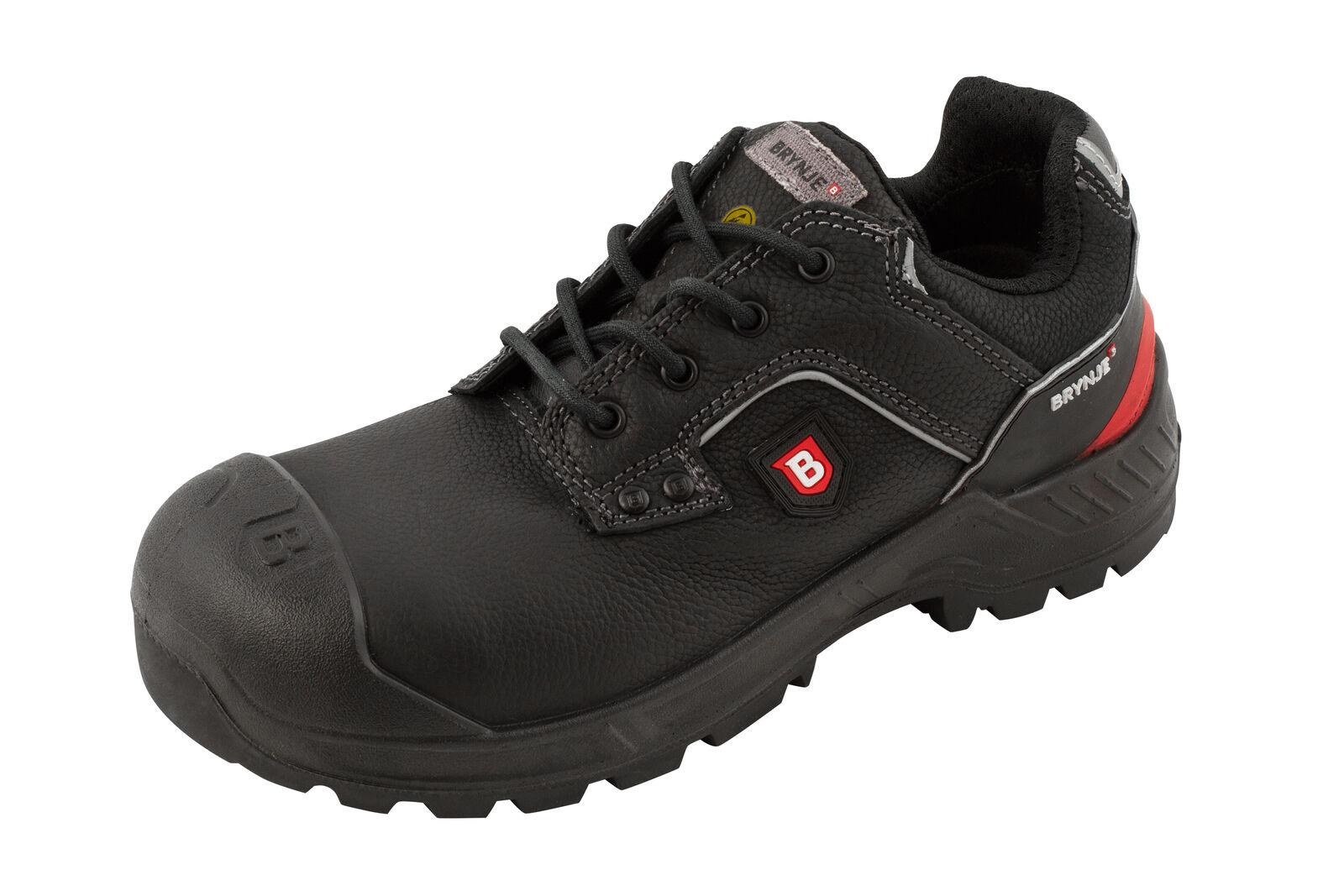 Brynje Robusto Calzado de Seguridad S3 Negro