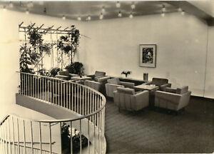 AK, Berlin Schönefeld, Flughafen, Mitropa-Flughafenhotel, innen, 1962