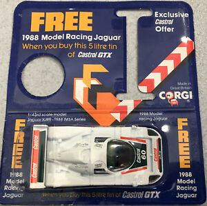 Jaguar-Racing-Model-XJR9-Castrol-Sponsored-1-43-Daytona-24-horas-1988-CORGI-UK
