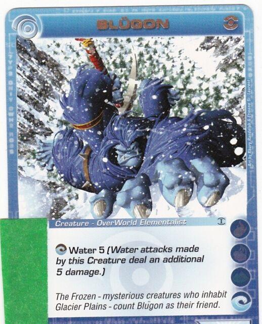 Chaotic Blugon - 4/232 Non-holo (Random Stats)