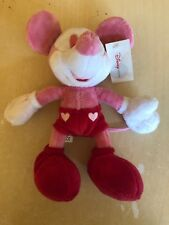 Rare Disney Pink Beanies Mickey Minnie Mouse Toys With Tag