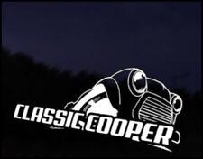 Classic Mini Cooper Car Decal Sticker JDM Vehicle Bike Bumper Graphic Funny