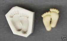 Small Feet Polymer Clay Push Mold Altered Art