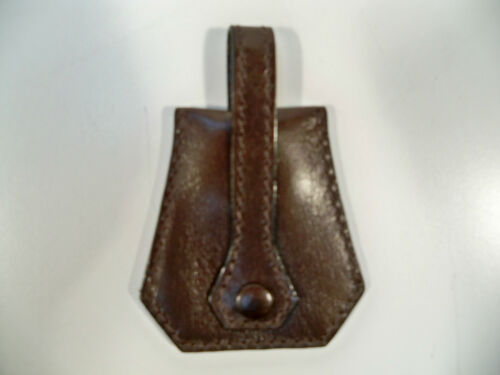 Mulholland Brothers Leather Valet Key Caddy Chain Fob Keychain NEW Stout Color