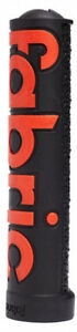 Fabric XL Lock On Handlebar Grips New Free Shipping Black//Red New in Box