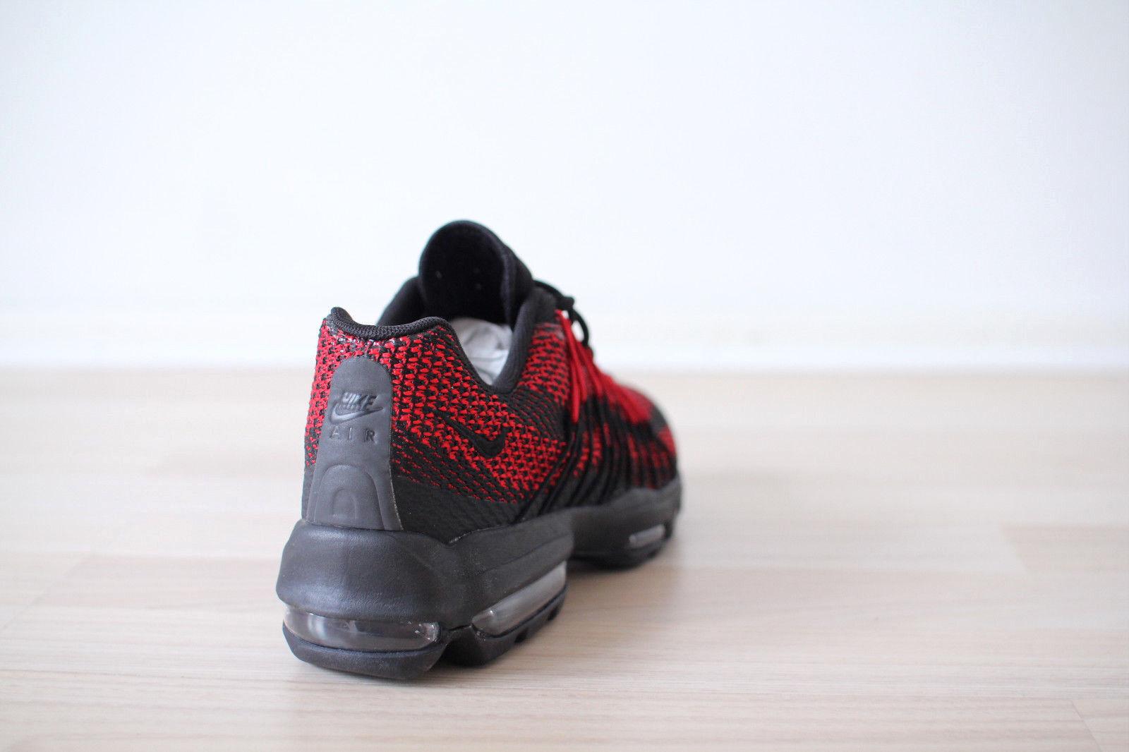 Nike Air Max 95 95 95 Ultra JCRD Rot Schwarz Gr. 39,42 NEU & OVP affa50