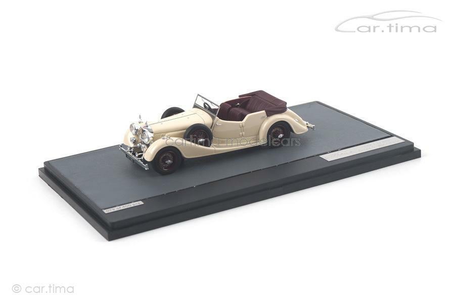 Alvis Cross & Ellis-blancoo Maroon-Matrix Scale Models - 1 of 408 - 1 43 - MX