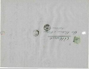 Spain 19th centuary stamps cover Ref 8309