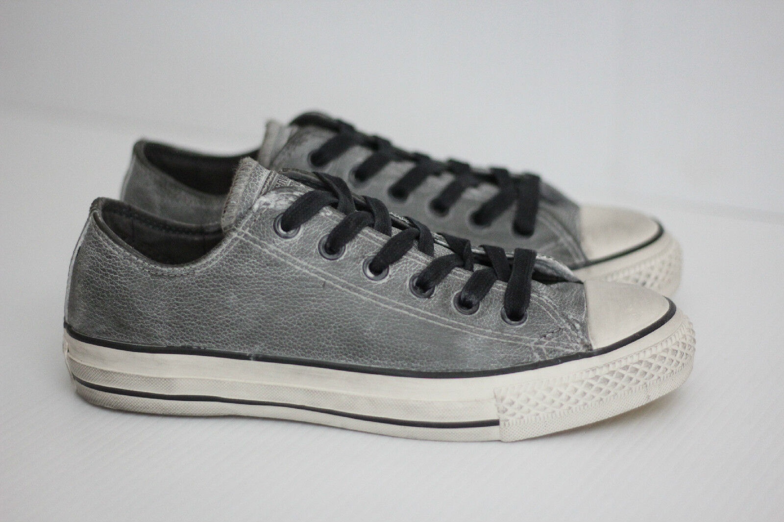 All Star Converse X John Varvatos Leather Low Top scarpe da ginnastica - nero Beluga 6 (W3)