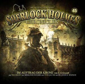 SHERLOCK-HOLMES-CHRONICLES-IM-AUFTRAG-DER-KRONE-FOLGE-45-2-CD-NEW