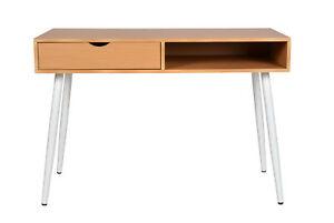 Schreibtisch design holz  Details zu ts-ideen Design Holz Schreibtisch Computer Arbeitstisch Tisch  MDF Holzoptik NEU