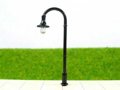 LED Straßenlaterne Lampe Leuchte Laterne 5er Pack NEU schwarz (Typ1) Spur N TT