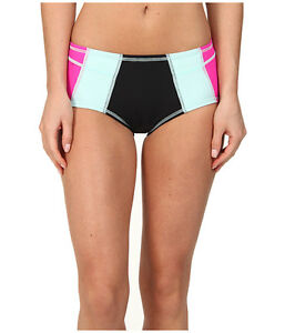 69d7f783a7f19 TYR SWIMWEAR JADA ACTIVE SEASIDE BIKINI BOTTOMS BLACK AND PINK LARGE ...