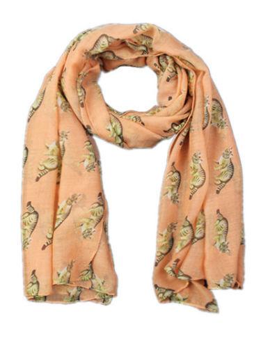 Women Lady Cat Animal Printing Soft Large Summer Spring Autumn Wrap Scarf
