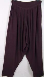 marokkansk os ~ ~ quiltet ~ harem ~ drapering Tienda ~ Ho bomuld ~ bukser ~ 1x m cb2 aubergine 8SqwwIxa