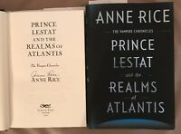 Signed Anne Rice 'vampire Chronicles Prince Lestat And The Realms Of Atlantis'