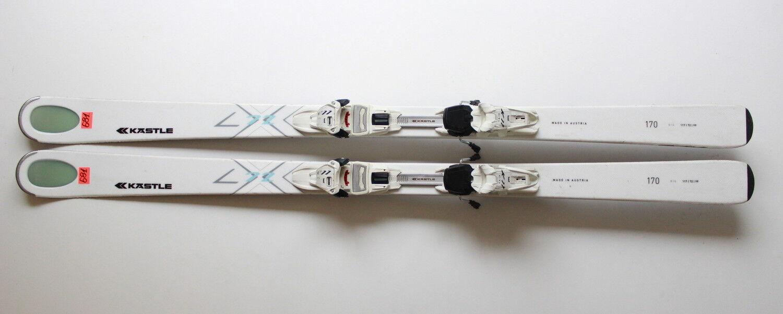 KASTLE LX 72 170 CM + MARKER  K11 CTI SKI SKIS N681  fashionable
