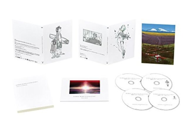 Psalms of Planets Eureka Seven Hi-Evolution Vol.1 Limited Ed Blu-ray CD Japan