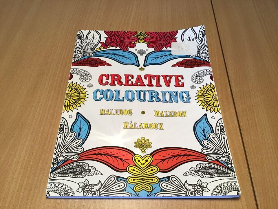Tegne/male, Creative Colouring malebog
