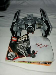 LEGO-Star-Wars-Darth-Vader-039-s-TIE-Fighter-8017-Complete
