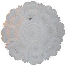Wickes White 400mm Polyurethane Plain Ceiling Rose In Bag