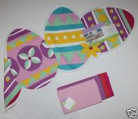 100% Cotton 48 X 14 Easter Egg Table Runner + 4 Nip Coordinating Napkins