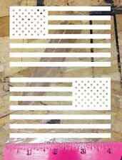 USA Flag Sticker vinyl car bumper decal outdoor United States America Die Cut