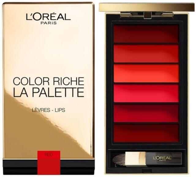 L'OREAL Color Riche La Palette Lips, Red
