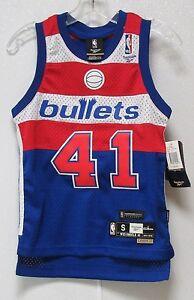 6ea6e40c1faa NWT NBA REEBOK SWINGMAN JERSEY - WES UNSELD WASHINGTON BULLETS BLUE ...