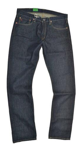 NEW Polo Ralph Lauren Men/'s Slim FIT Straight 018 Jeans RIVERSIDE DARK WASH BLUE