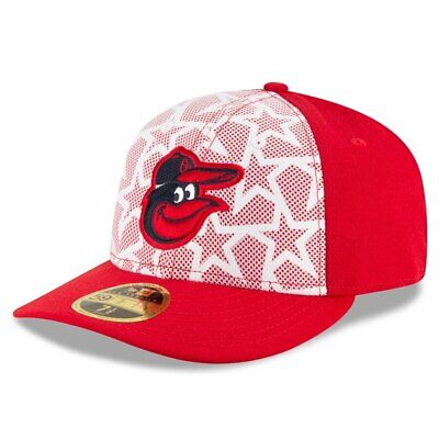 new lifestyle nice cheap online retailer New Era MLB 4th of July Stars Stripes 59Fifty Low Profile Hat ...
