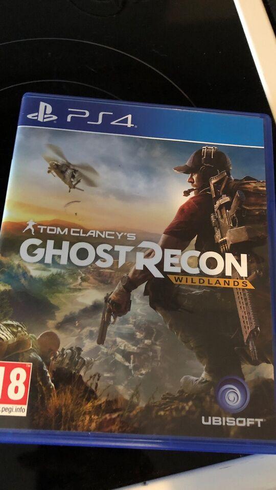 Forskellige spil, PS4, action